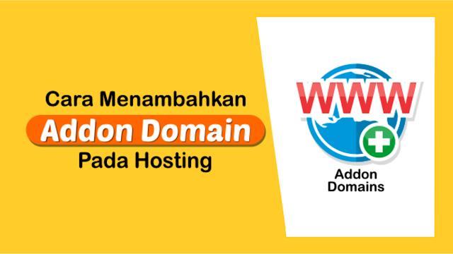Menambah Domain di Cpanel
