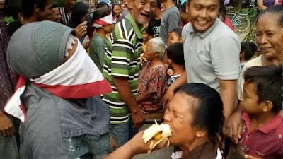 makan pisang mata tertutup memperingati 17 agustus 2019
