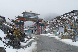 Sela Pass Road Gate