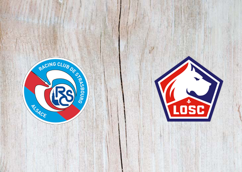 Strasbourg vs Lille -Highlights 1 February 2020