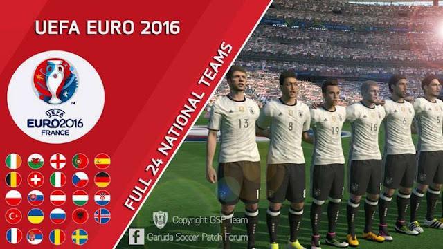 PES 2016 Garuda Soccer Patch Update v1.1.0