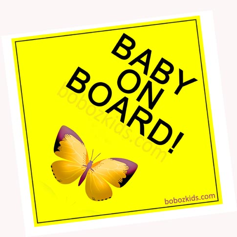 Baby On Board, Car Signs, Port Harcourt, Nigeria