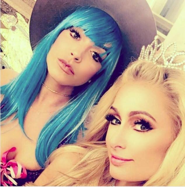 Farrah Brittany bersama Paris Hilton.(Instagram)