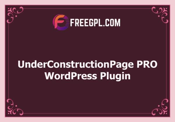 UnderConstructionPage PRO v5.65 Free Download
