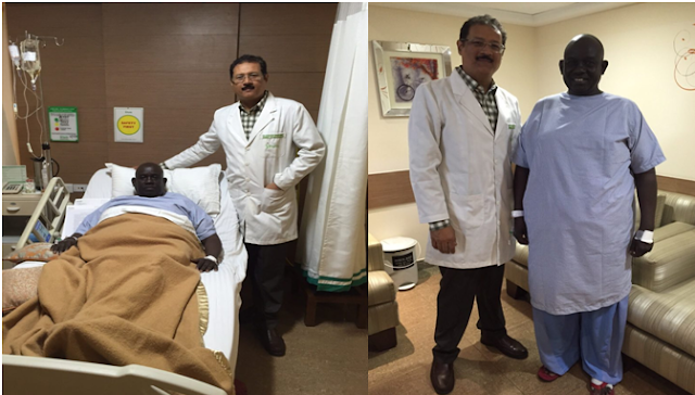 Dr Randeep Wadhwan done Bariatric Surgery at Fortis Hospital on Cancer Survivor from Sudan