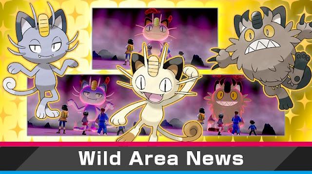 Pokémon Sword/Shield (Switch) inicia novo evento Max Raid Battle com Meowth como destaque