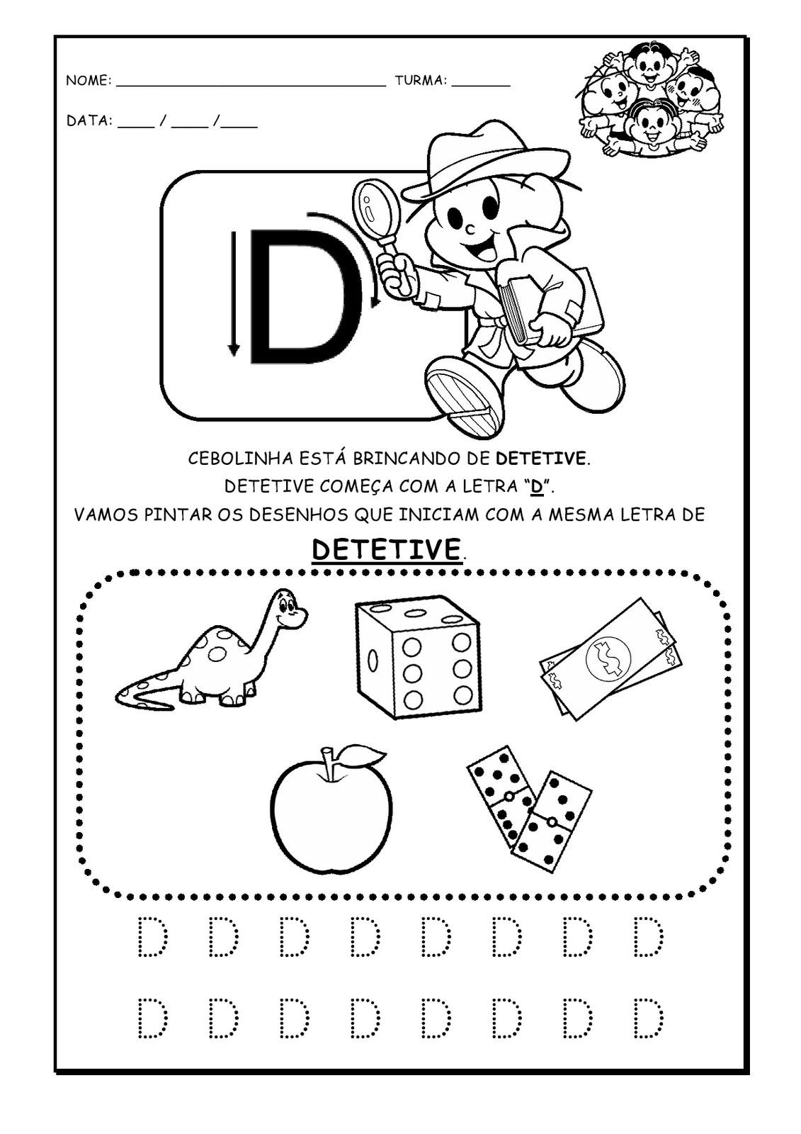 Alfabetizando Com Monica E Turma Alfabeto