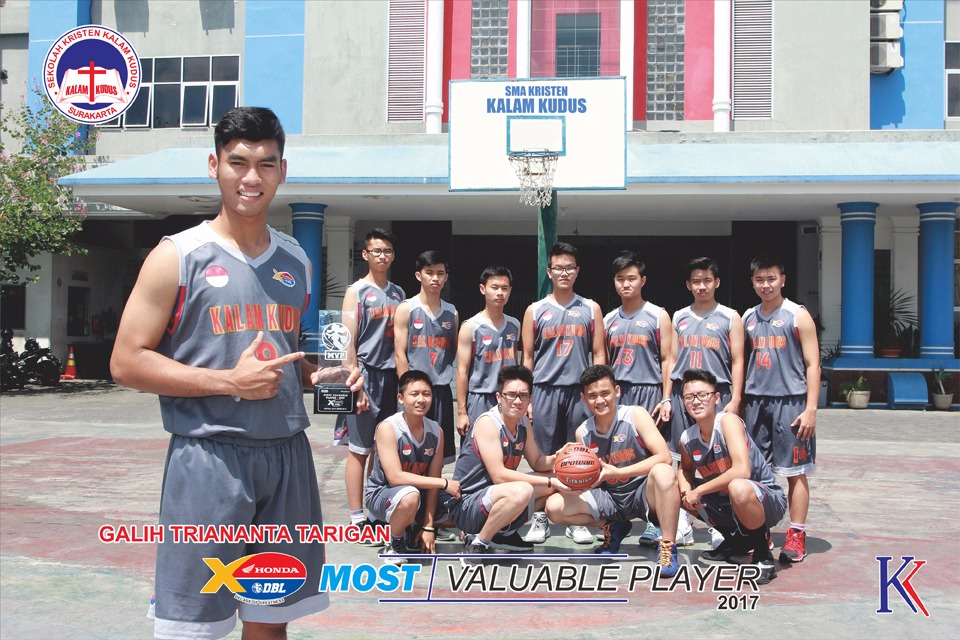 Galih Triananta Tarigan Terpilih Jadi Most Valuable Player 2017