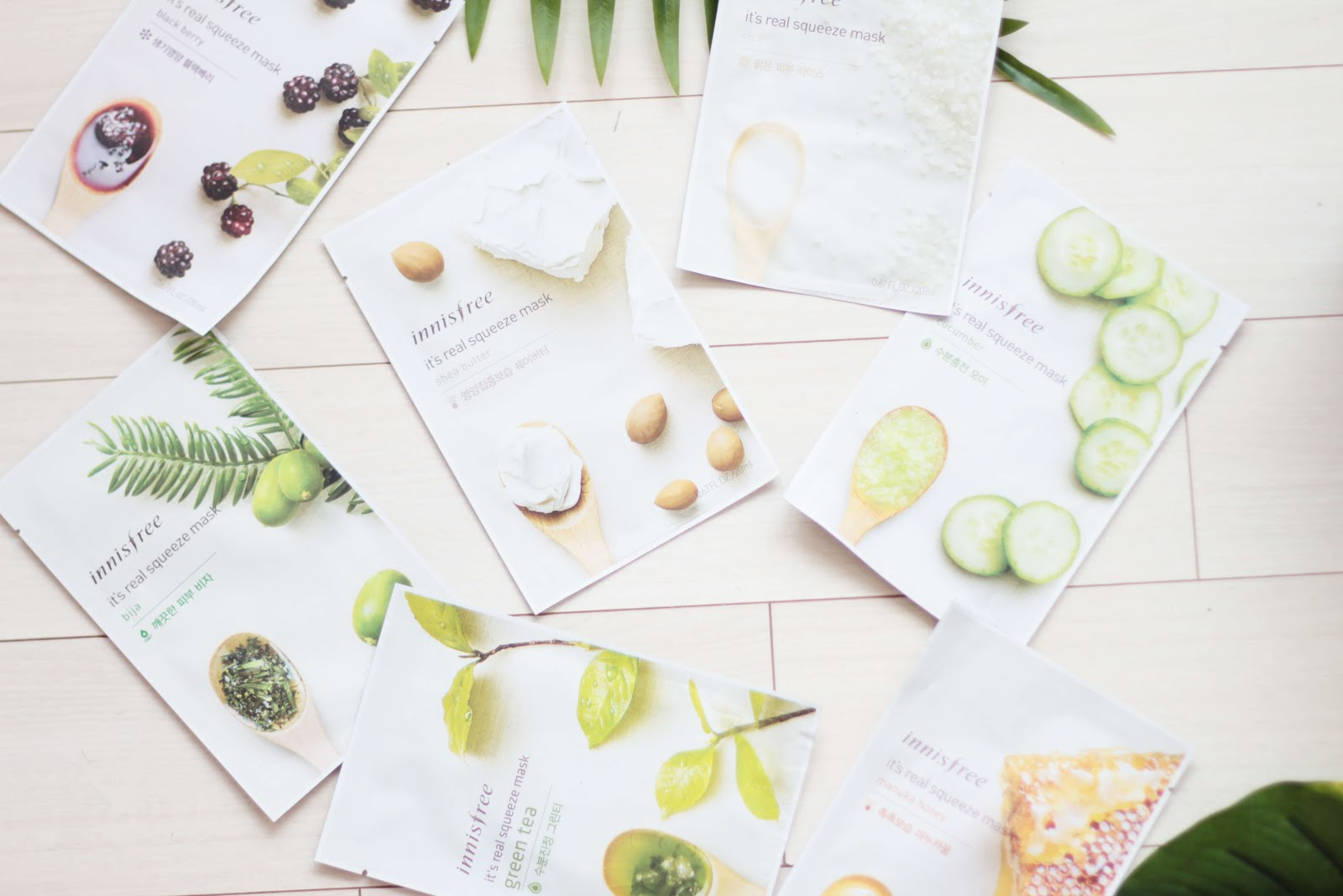 innisfree sheet masks kbeauty blogger