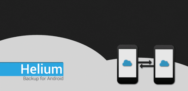 تطبيق Helium – App Sync and Backup