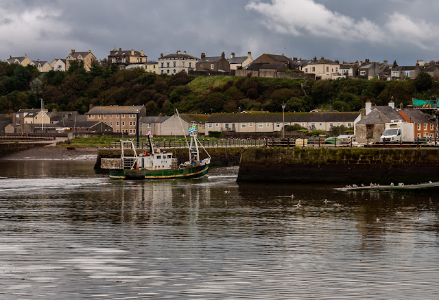 Photo of Silver Stream returning to Maryport Harbour