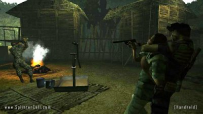 Game Tom Clancys Splinter Cell Essentials PPSSPP CSO High Compress Full Version Free Download
