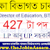 Director of Education, BTC Kokrajhar Recruitment 2021: 427 LP and UP Teacher Vacancies