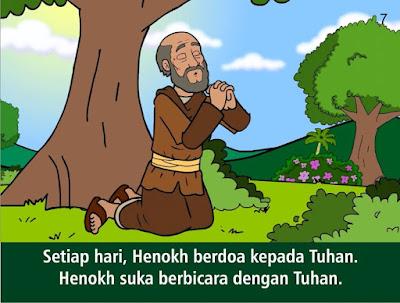 Paling Inspiratif Gambar Sketsa Cerita Alkitab Hana Berdoa ...