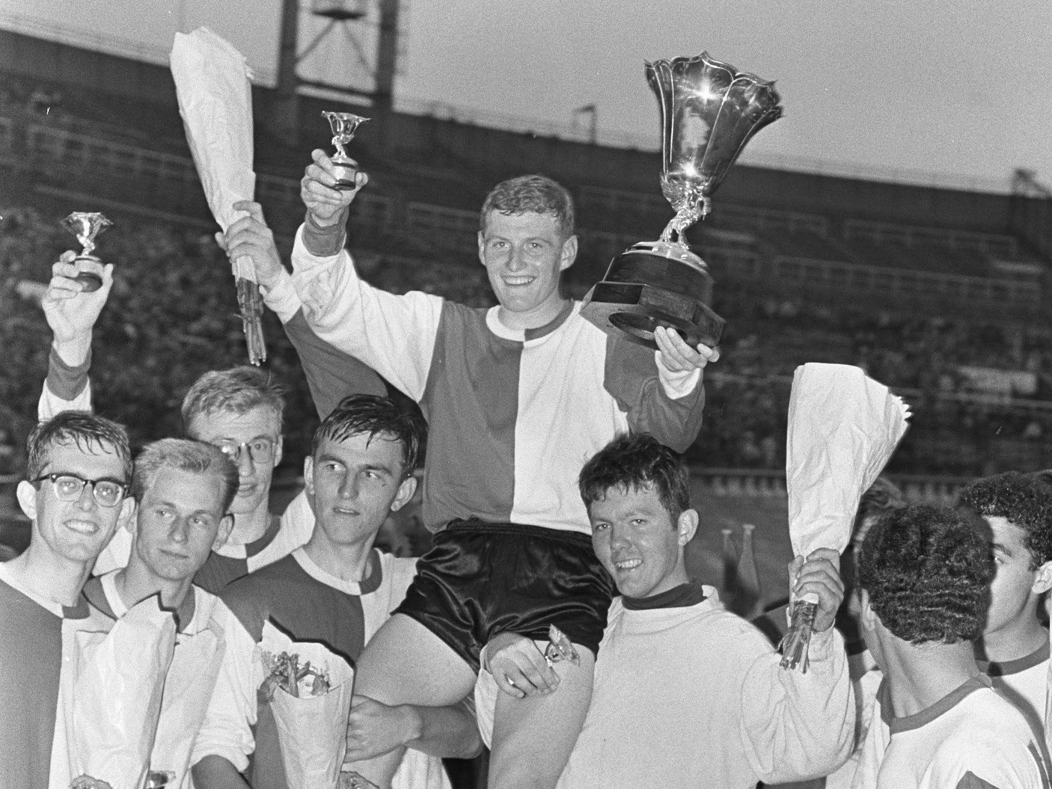 Wim Jansen wint in 1966 de landstitel met de Feyenoordjeugd