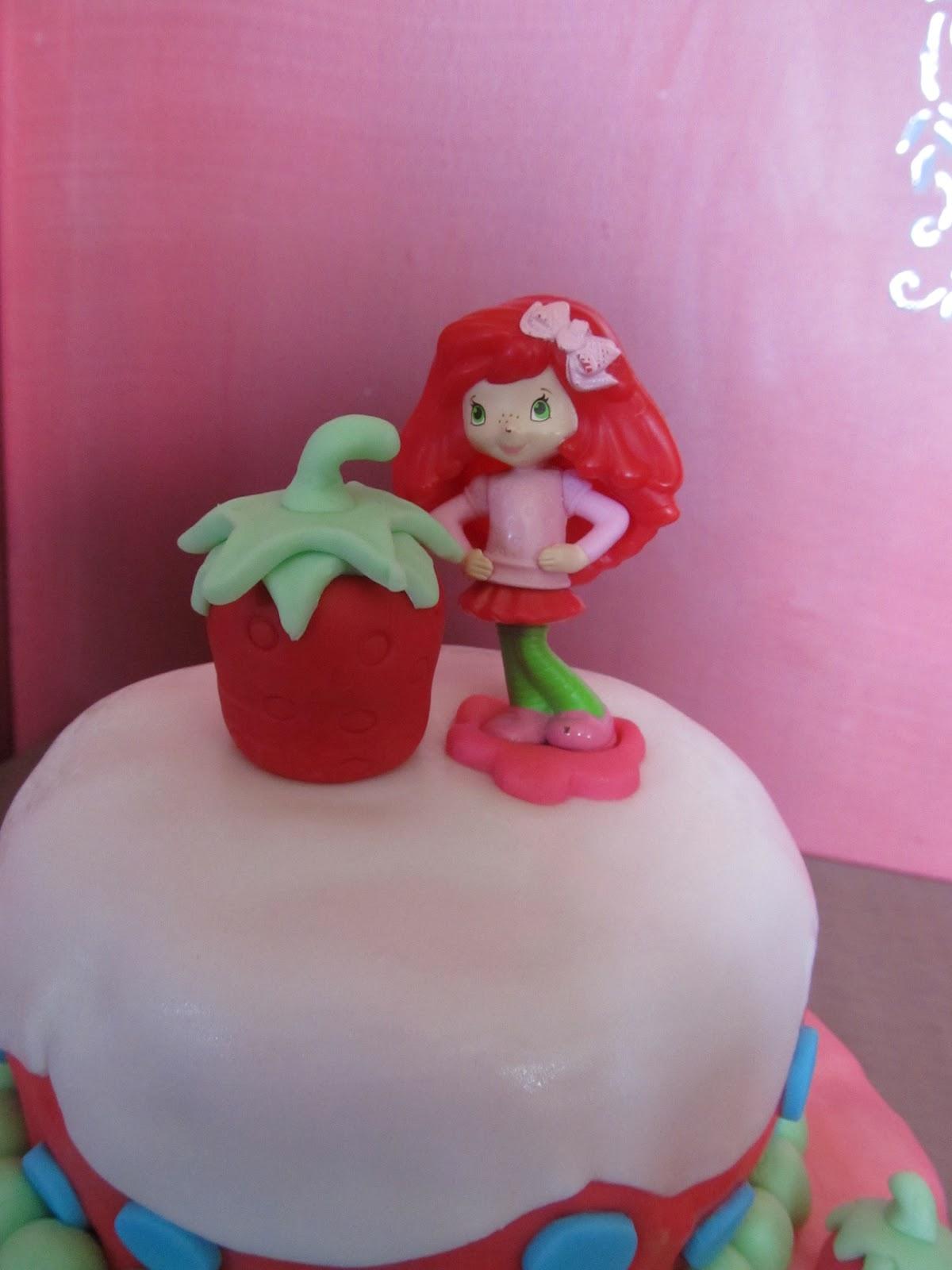Cake Designs By Steph Strawberry Shortcake Birthday Cake