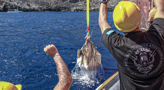 New findings from the underwater archaeological research at the Antikythera shipwreck