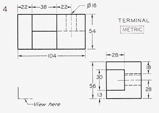 ENGR1304: Orthographic (Multiview) Projections