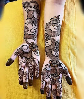 Jewellers_with_flowers_mehndi_design