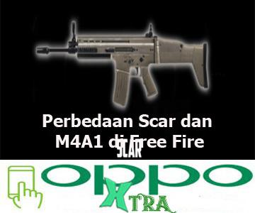 Perbedaan Scar dan M4A1 di Free Fire