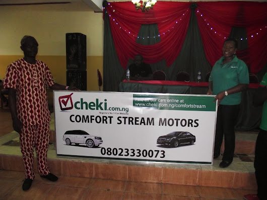 Cheki.com.ng Appreciates her Ibadan Car Dealers