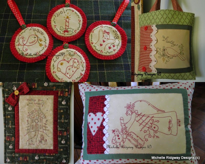 CHRISTMAS TREATS TO STITCH