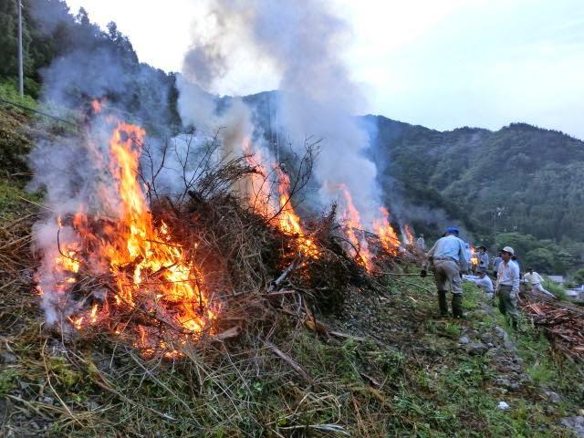農ある暮らしを訪ねる旅(6)靜岡葵區の焼畑を訪ねて