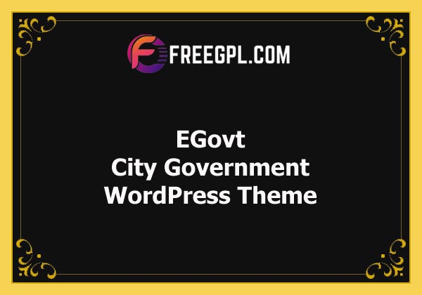 EGovt v1.0.4 – City Government WordPress Theme Free Download