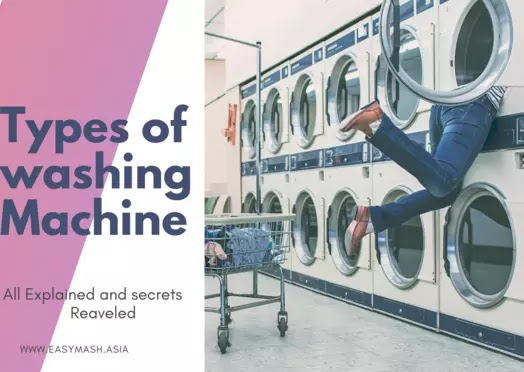 How many types of washing machine