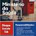 #MapadoDescasoDMBR: Ouvidoria do Ministério da Saúde