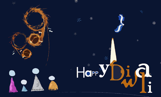 Happy Diwali and Happy New Year HD Wallpaper