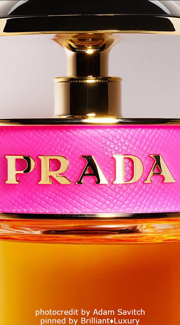 Brilliant Luxury♦PRADA Fragrance (photocredit by Adam Savitch) #beauty