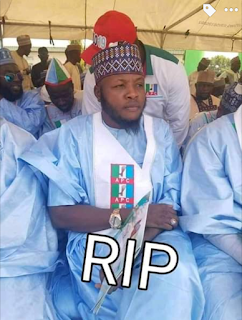 Chairman of Niger and North Central APC Youths leader is Dead