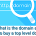 What is the domain and how to buy a top level domain?.