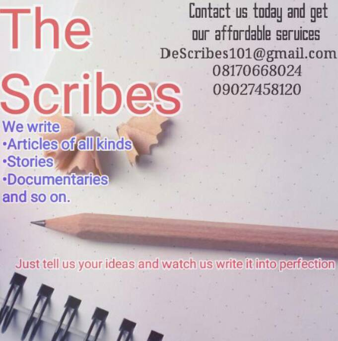 Let us write for us, contact us now