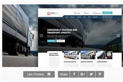 Download Wordpress Theme CargoPress - Logistic