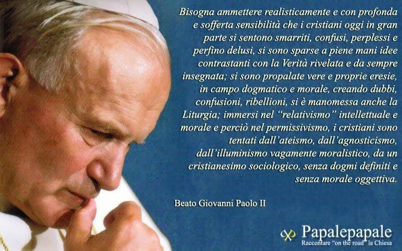 Frasi Matrimonio Giovanni Paolo Ii.Frasi Sulla Famiglia Giovanni Paolo