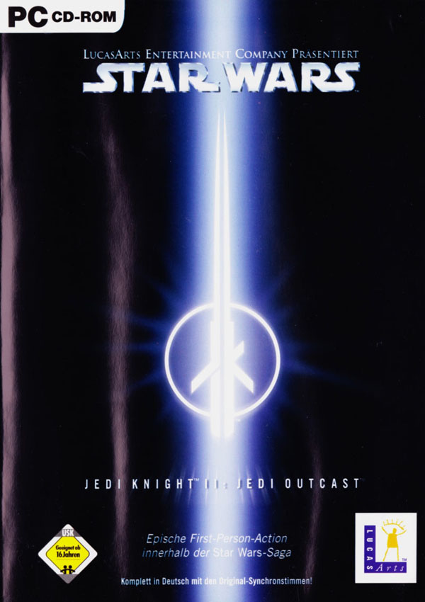 Star Wars Jedi Knight II Jedi Outcast Download Cover Free Game