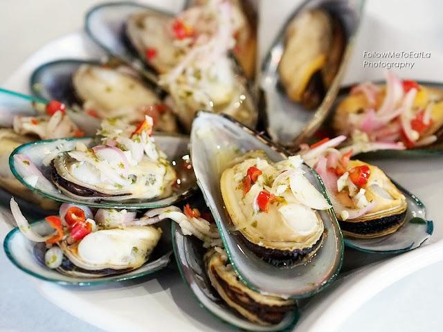 Kai's Plato Seafood Restaurant Chillies Mussel