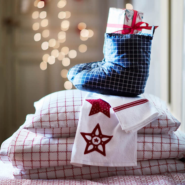 textiles Navidad Ikea 2016