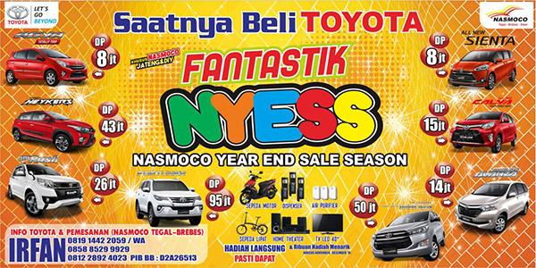 Toyota Tegal 2016