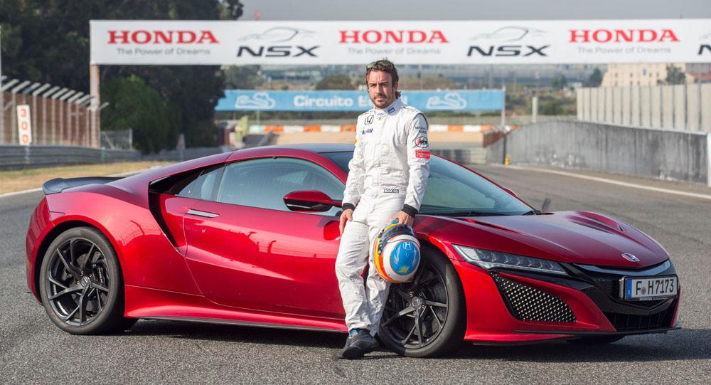 Fernando Alonso & Stoffel Vandoorne Demonstrate Honda NSX At Estoril [w/Video]