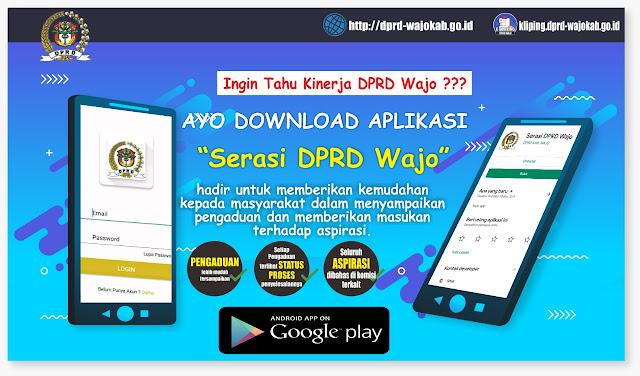 DPRD Wajo Launching Aplikasi Serasi, AMIWB : Memudahkan Masyarakat Mengadu Kepada Wakilnya