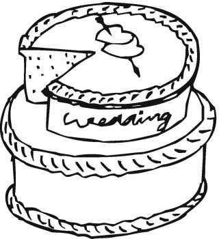 Disney Coloring Pages : Barbie Birthday Cake Decorating