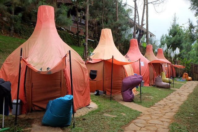The Lodge Maribaya | Penginapan Glamping di Lembang