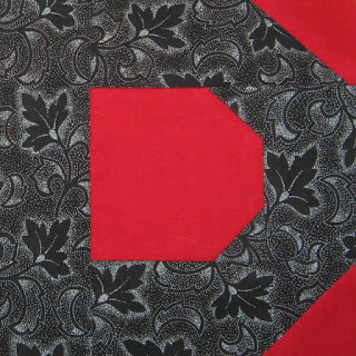 """Letter D for Cheddarback, 5"""" block"""