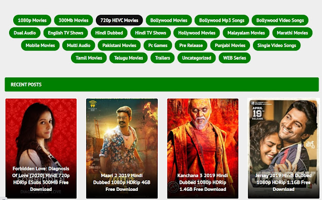 Bolly4u Illegal Movies Downloading Website