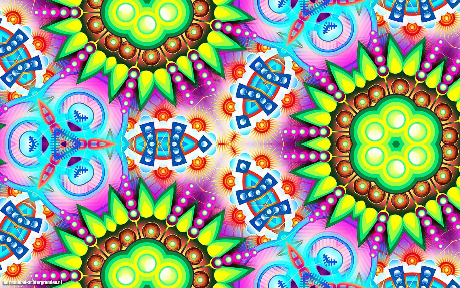 Hd Wallpapers For Windows 7 Download Kleurrijke Bureaublad Achtergrond Met Abstracte Kunst