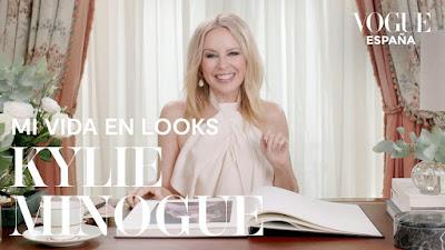 """Dig Out Kylie Minogue's VOGUE España Interview Entitled, """"Mi Vida En Looks""""!"""