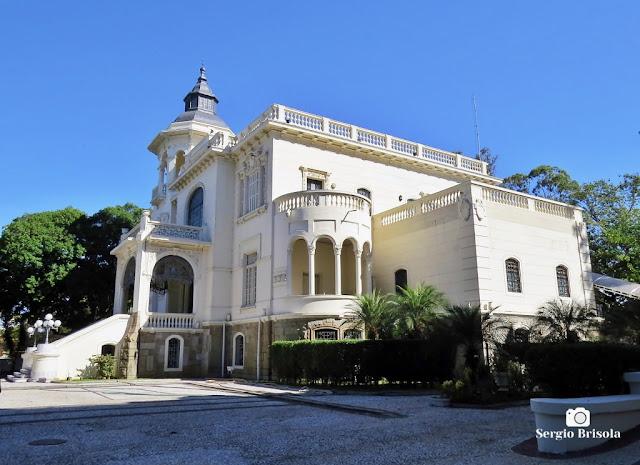 Palácio dos Cedros (vista diagonal ampla)